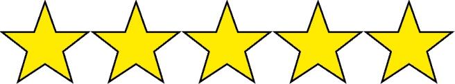 5 stars 5